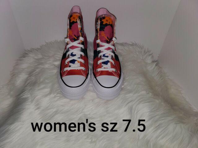 Size 7.5 - Converse Chuck Taylor All Star Lift High Paradise Print ...