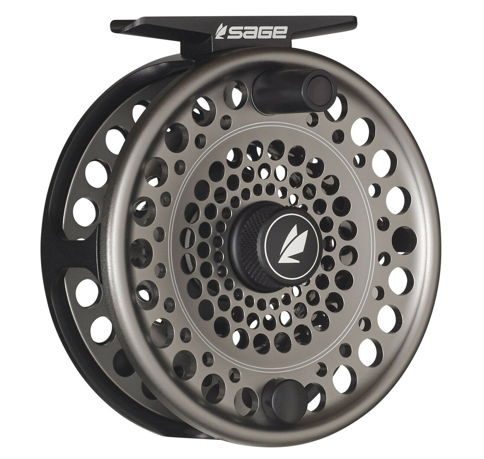 Sage Trout 2/3/4 Fly Reel - Stealth/Silver - NEW - FREE FLY LINE