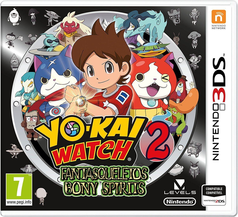 YO-KAI WATCH 2 FANTASQUELETOS 3DS TEXTOS EN CASTELLANO ESPAÑOL NUEVO PRECINTADO