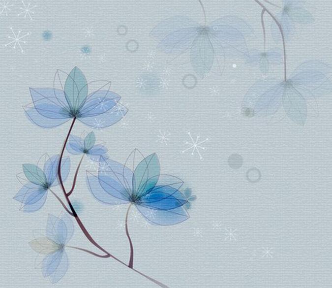 3D Flower ink art 16278 Paper Wall Print Decal Wall Wall Murals AJ WALLPAPER GB