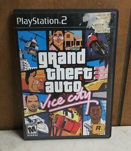 Grand Theft Auto Vice City Sony PlayStation 2 ps2 cib Tested
