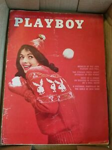 Playboy-February-1961-Very-Good-Condition-Free-Shipping-USA