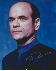Robert Picardo Signed Star Trek Voyager The Doctor 8x10 ...