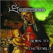 Scornage-Born To Murder The World  CD NEW