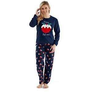 UK Family Matching Adult Kids Christmas Pyjamas Xmas Nightwear Pajamas PJs Sets