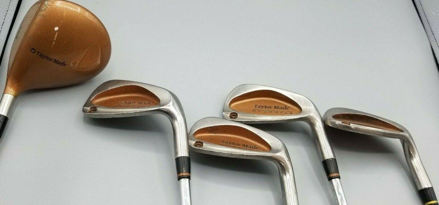 Taylormade Quemador de mano derecha hierros  de gran tamaño S, 4,8,9 y 10.5 º controlador Taylormade Burner G  popular