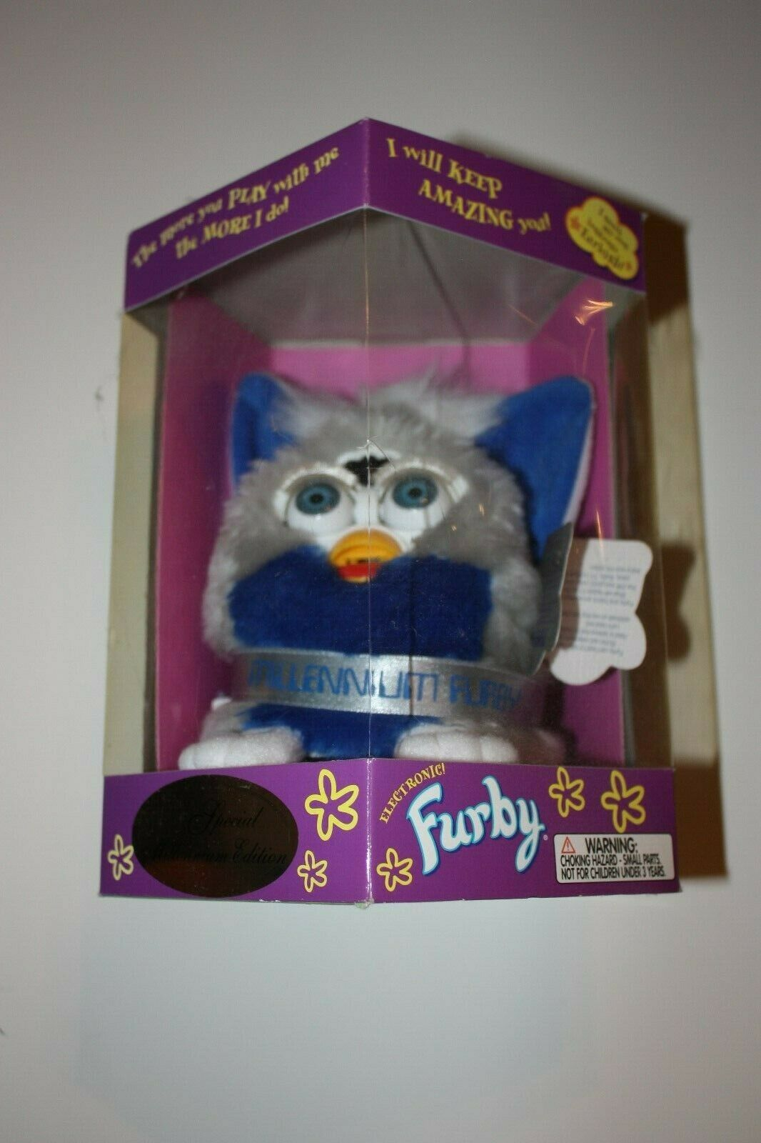 Furby, Special Millenium Edition, In Original Sealed Box (Never opened)