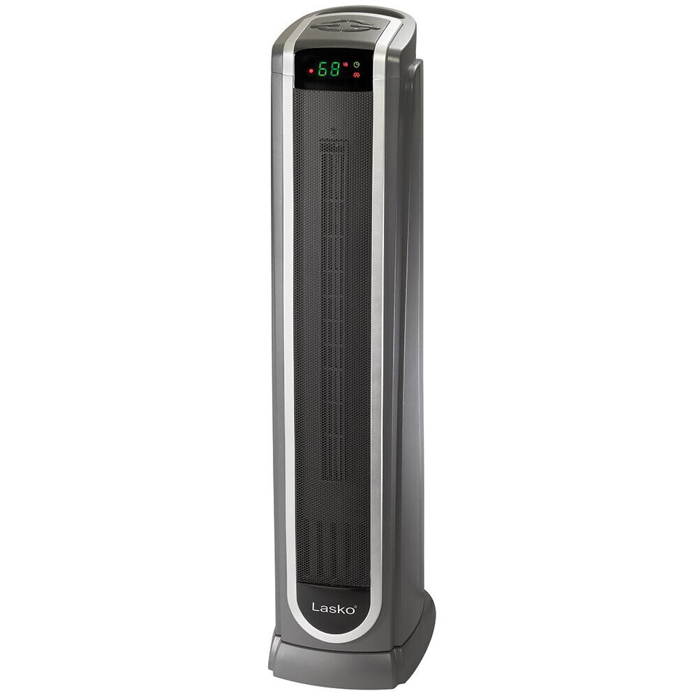 Electric Lasko 1500W Ceramic Tower Space Heater with Remote FREE SHIPPING