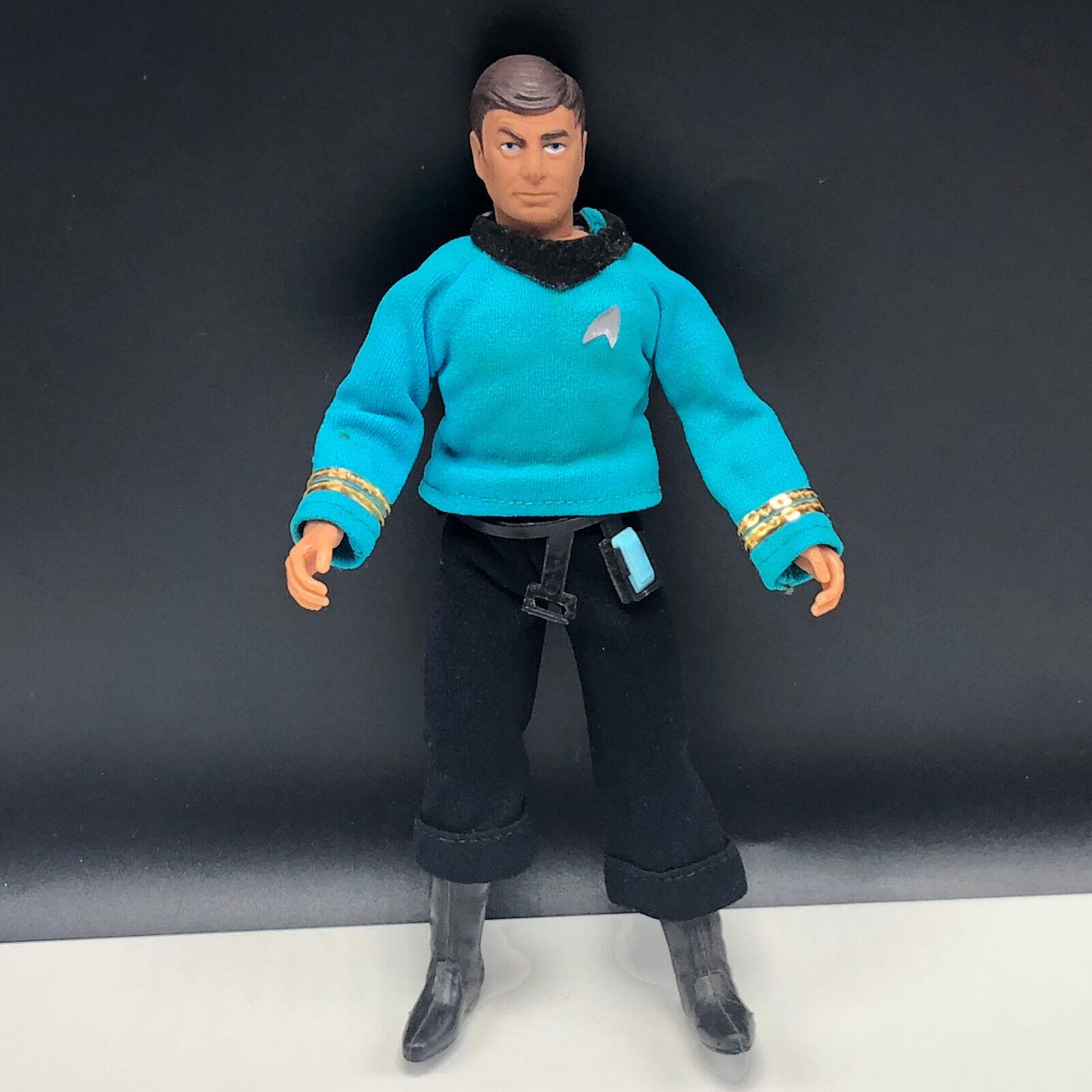 MEGO STAR TREK ACTION FIGURE VINTAGE 1974 loose toy Dr Leonard Bone Mccoy belt