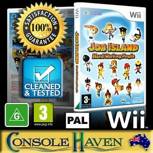 Wii-Game-Job-Island-Hard-Working-People-G-Simulation-PAL-Guaranteed