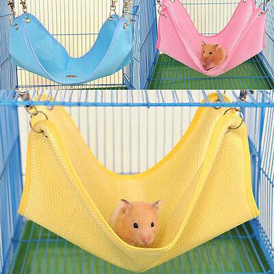 Hammock for Pet Hamster Rat Parrot Ferret Hamster Hanging Bed Cushion House Cage
