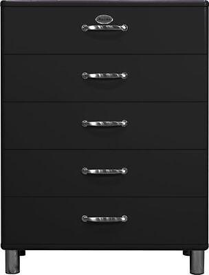 Tenzo Kommode Malibu 5295 in Schwarz, Schrank, Sideboard, Highboard, Anrichte