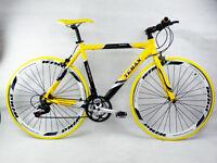 £30 Off - Teman Brand Hybrid / Racing Road Bike Bicycles- Shimano 21 Speed