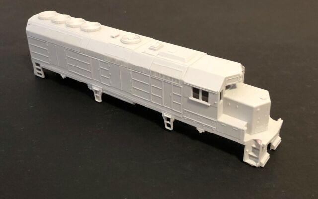 HO GP40FH-2 Commuter Diesel Locomotive Resin Body Shell by MTM