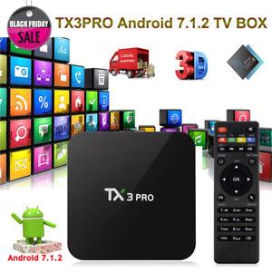 2018-TX3PRO-Smart-Android-7-1-2-Quad-core-S905W-WIFI-4K-Movies-Sports-TV-BOX-USA