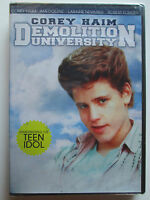 Demolition University (dvd, 2010) Corey Haim, Ami Dolenz (brand New) Region 1