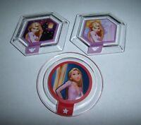 Disney Infinity Power Disc Lot Tangled Rapunzel Healing Birthday Sky Kingdom