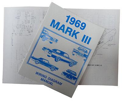 1969 Lincoln Mark III Wiring Diagram Manual   eBay