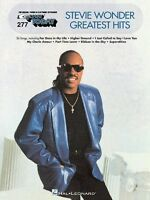 Stevie Wonder Greatest Hits Sheet Music E-z Play Today Book 000100186