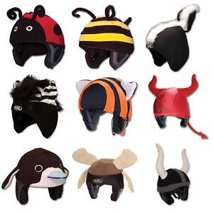 fa63517ee4661 Details about Mental Animal Bug Cute Cool Moose Ladybug Bee Ski Snowboard  Snow Helmet Cover +