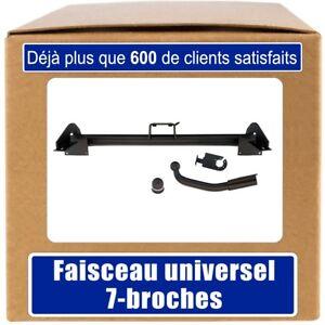 ATTELAGE fixe PEUGEOT 307 Break//SW 2002-2005+FAISC.UNIV.7 broches COMPLET