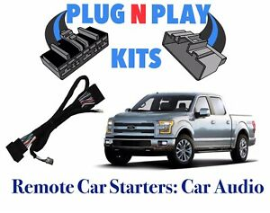 2015 2016 2017 2018 2019 Ford F150 Plug Play Car Starter Remote Start W Menu Ebay