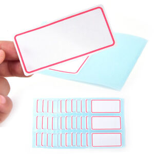 720pcs WHITE SELF-ADHESIVE LABELS 10x36mmWritable Adhesive Labelling Stickers