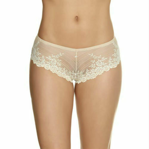 Wacoal Embrace Lace Tanga Brief Nude//Ivory Size XL//16 Sale  SALE