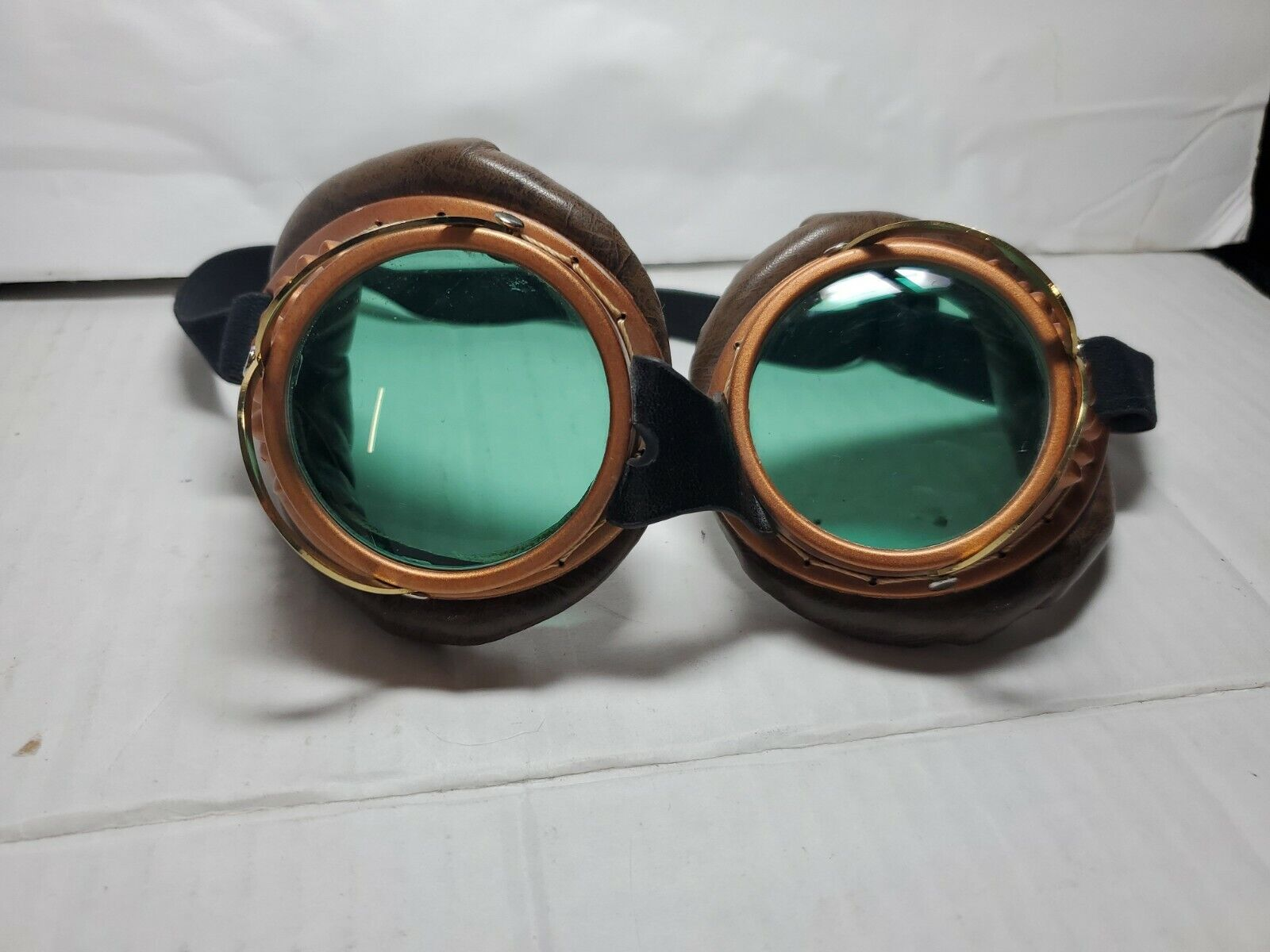 Vintage welding glasses old steampunk goggles cyber goggles cosplay rare ussr