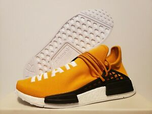 info for d25b2 36faf Details about DS Adidas Pharrell Human Race TANGERINE BB3070 Size 10
