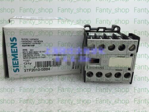 1PC NEW SIEMENS 3TF2010-0BB4 24VDC Contactor #V1798 CH