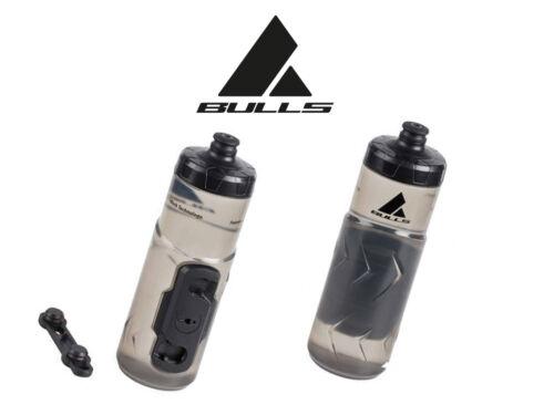Bulls Trinkflasche 600ml Magnet Verriegelung Flaschenhalter Trinkflasche Neu