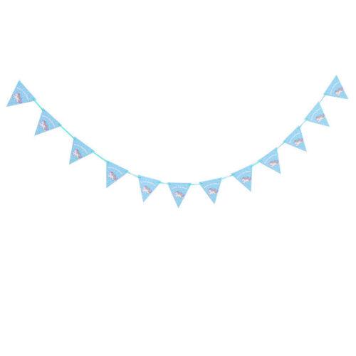 Einhorn Party Set Geschirr Teller Serviette Banner Geburtstag Box Party Decor
