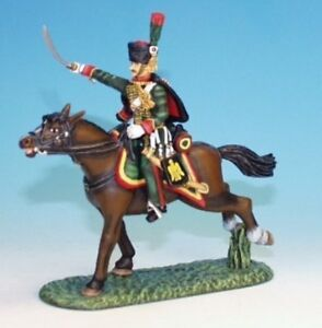 Frontline-CDC-9-Napoleonic-French-Chasseurs-a-039-Chevel-N-C-O-MIOB