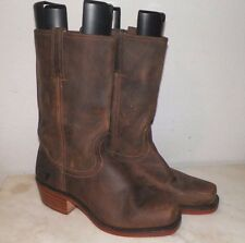 MEN'S FRYE BROWN LEATHER BOOTS SIZE 11 N NEVER USED NO BOX USA MADE