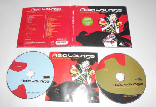 1 von 1 - 2 CD Asia Lounge 2  2002 24.Tracks asian flavoured club tunes 2nd floor 10/15