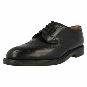 Coupe Braemar Loake Chaussures Pour Polis Cuir F Noirs Hommes Z0qft0w1