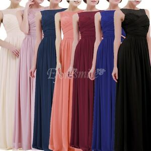 Elegant-Party-Dress-Bridesmaid-Formal-Evening-Gown-Chiffon-Long-Prom-Maxi-Gown
