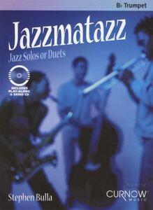 Belle Jazzmatazz Jazz Solos Duos Pour Bb Trompette Partitions Livre Avec Play-along Cd-afficher Le Titre D'origine