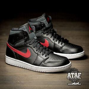 c020252d8cc251 2015 Nike Air Jordan 1 Retro High Rare Air Bred Patch Size 8.5 ...