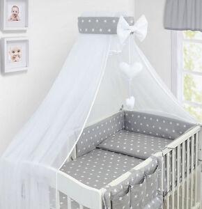 Baby Bettwäsche 135x100 Set 14tlg Bettsett Babybettwäsche Zum Bett