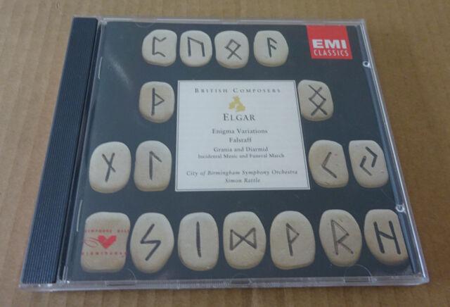 Sir Edward Elgar - Elgar: Enigma Variations / Falstaff / Grania & Diarmid (1994)