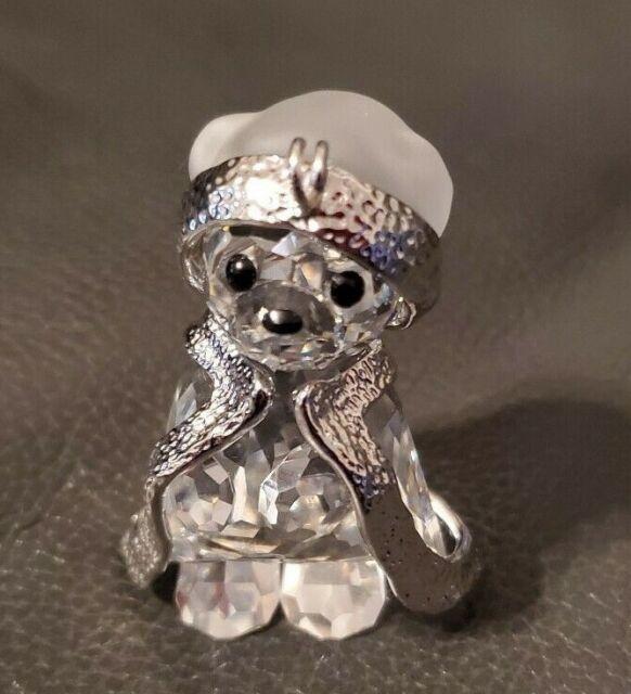 SWAROVSKI Crystal KRIS BEAR 2006 Santa FIGURINE Annual ...