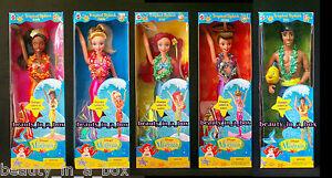 Tropical-Splash-Ariel-Eric-Attina-Arista-Kayla-Little-Mermaid-Disney-Doll-Lot-5