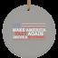 Make America Fast Again Drive a Mustang Christmas Ornament