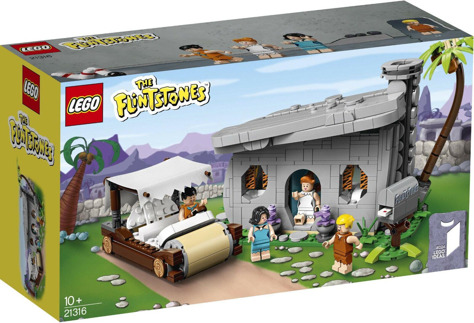 Lego Ideas - 21316 The Flintstones-Famille de feu Pierre-NEUF & neuf dans sa boîte