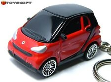 RARE KEY CHAIN RED BLACK SMART FORTWO PASSION COUPE NEW CUSTOM LIMITED EDITION S