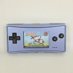 Game Boy MICRO Console BLUE OXY-001 Nintendo 10069111 gba