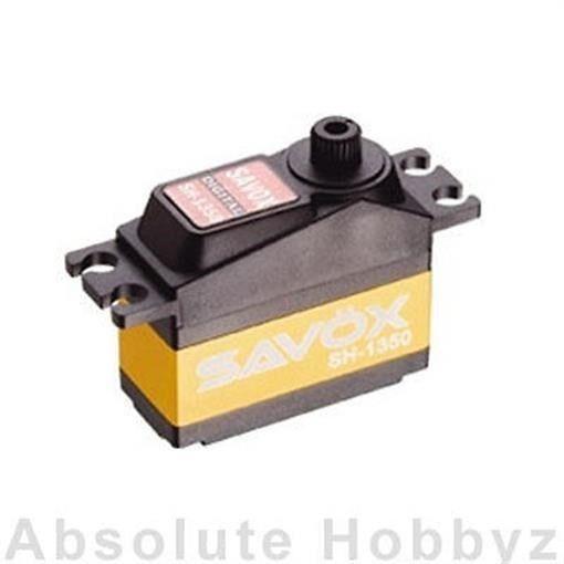 Savox SH-1350 Super Torque Mini Digital Servo - SAV-SH-1350