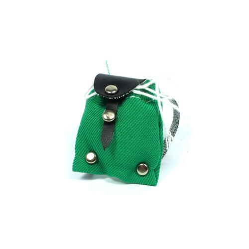 # CREAL 743103 miniatura Zaino Verde 1:12 Casa delle Bambole Nuovo